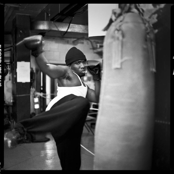 boxing in the basement