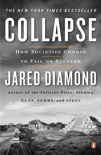 diamonds thesis in collapse Jared diamond - collapse why did these ancient civilizations abandon their cities after building them with such great effort why these ancient collapses.
